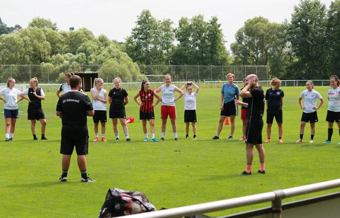 Trainingsauftakt – SV Gläserzell