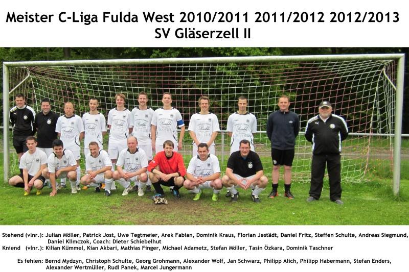 SVG II - Meister C-Liga FD-West 2010/2011 2011/2012 2012/2013